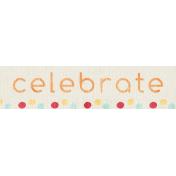 Birthday Wishes- Celebrate Label