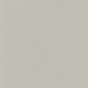 Furry Friends- Kitty- March 2015 Blog Train Mini Kit- Gray Diagonal Stripes Paper