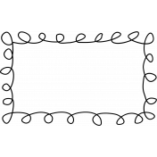 Kitty- Doodle Frames- Scribble Frame