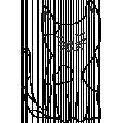 Kitty- Illustration- Sitting Kitty