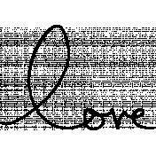 Kitty- Illustrations 02- Handwritten Love