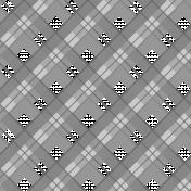 Diagonal Plaid Overlay