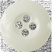 Button Mix Set 02- White Button- 4 Holes