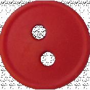 Button Mix Set 02- Red Button # 10