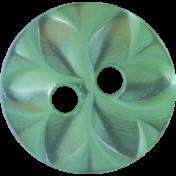 Button Mix Set 01 - Button 04 - Aqua Flower