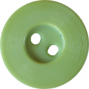 Button Mix 01- Green 2 Hole Button # 06