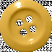 Button Mix Set 01- Golden 4-Hole Button # 09