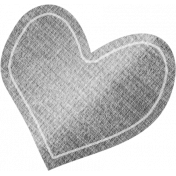 Furry Friends- Kitty- Paper Heart 02 Template