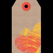 Furry Friends- Kitty- Cardboard Tag