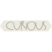 Furry Friends- Kitty- Curious Word Art