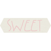 Furry Friends- Kitty- Sweet Word Art