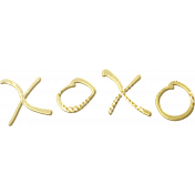Shine- Gold Words- XOXO