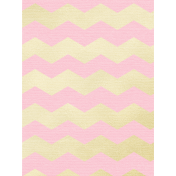 Shine- Journal Cards- Pink and Gold Chevrons