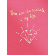 Spine- Journal Cards- Sparkle In My Life