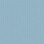 Shine- Blue Chevron Paper