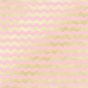 Shine - Gold Chevron Pink Paper