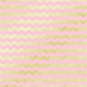 Shine- Gold Chevron Pink Paper