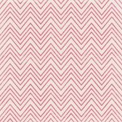 Shine- Hot Pink Chevron Paper