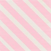 Shine- Pink Large Diagonal Stripes Paper