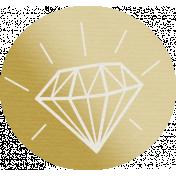 Shine- Gold Diamond Tag