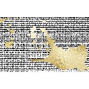 Shine- Gold Paint Splat