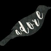 Jane- Bird Silhouettes- Adore