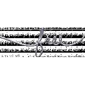 Jane- Handwritten Metal Word Art- Free