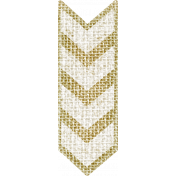 Jane- Word Art- Burlap Chevron Arrow