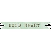 Jane- Word Art- Bold Heart
