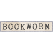 Jane- Word Art- Bookworm