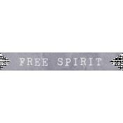 Jane- Word Art- Free Spirit