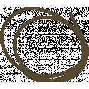 Jane- Black Circles Doodle