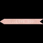 Jane- Word Art- Love You
