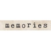 Jane- Word Art- Memories