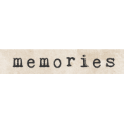 Jane- Word Art- Memories