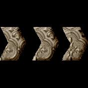 Jane- Word Art- Metal Chevron Arrow