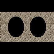 Jane- Ornate Metal Double Frame