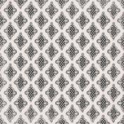 Jane- Black and White Ornate Paper