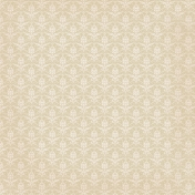 Jane- Cream Damask Paper
