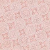 Jane- Pink Vintage Doilies Paper