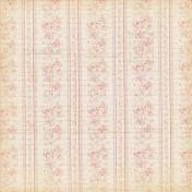 Jane- Vintage Pink Roses Paper