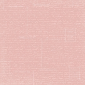 Jane- Pink Paper With White Writing
