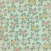 Jane- Small Vintage Roses Paper
