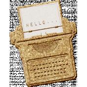 Corky Bits- Typewriter