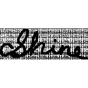 Shine- Handwritten Words Template- Shine