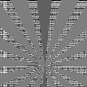 Sunburst Layered Overlay/Paper Template- Template 03