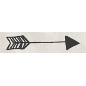 Renewal May 2015 Blog Train Mini Kit- Doodle Arrow Label