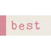 Renewal May 2015 Blog Train Mini Kit- Label- Best