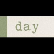 Renewal May 2015 Blog Train Mini Kit- Green Label- Day