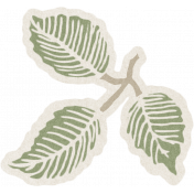 Renewal May 2015 Blog Train Mini Kit- Leafy Branch Sticker